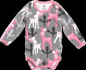 PaaPii Bambi vauvan body harmaana - Bodyt ja paidat - 13170 - 1 23074bd0e1