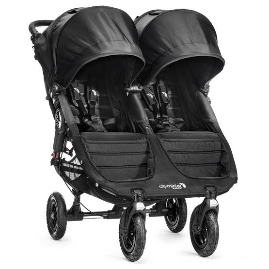 Baby Jogger City Mini GT tuplarattaat Black/Black - Sisarusrattaat - BJ16410 - 1