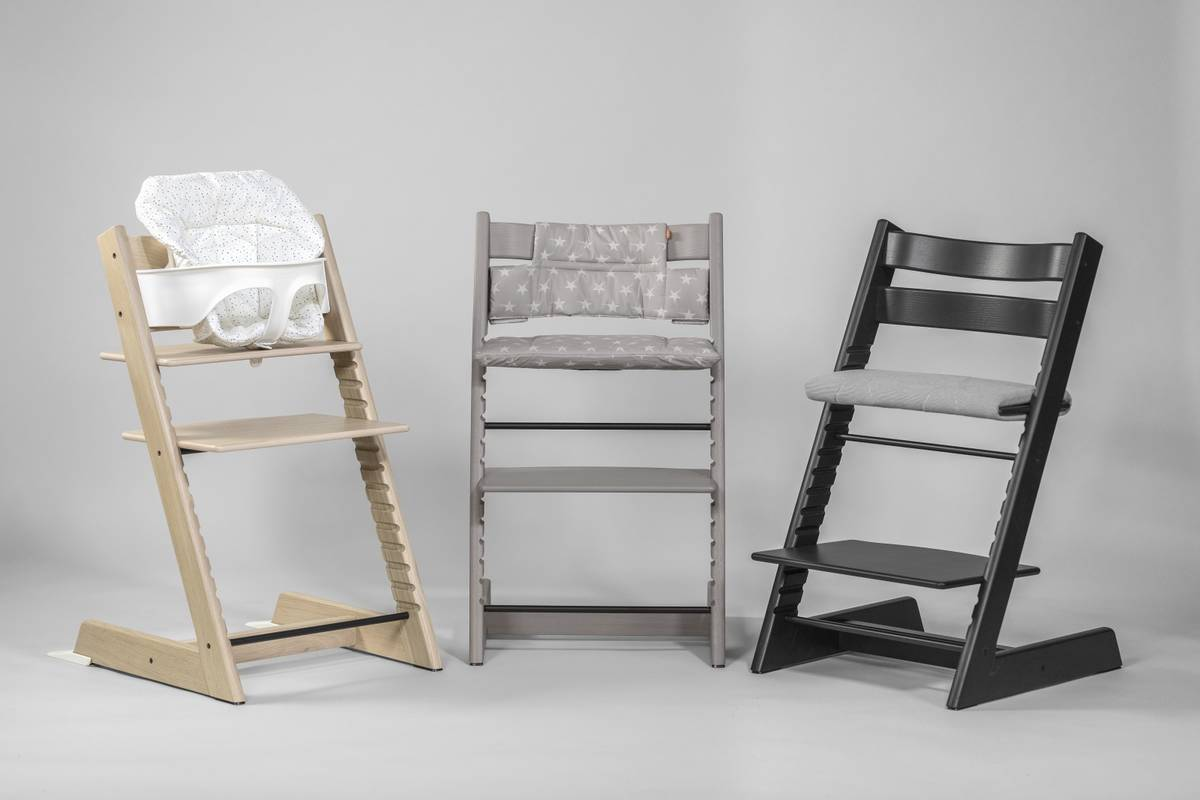 stokke tripp trapp oak sy tt tuoli white. Black Bedroom Furniture Sets. Home Design Ideas