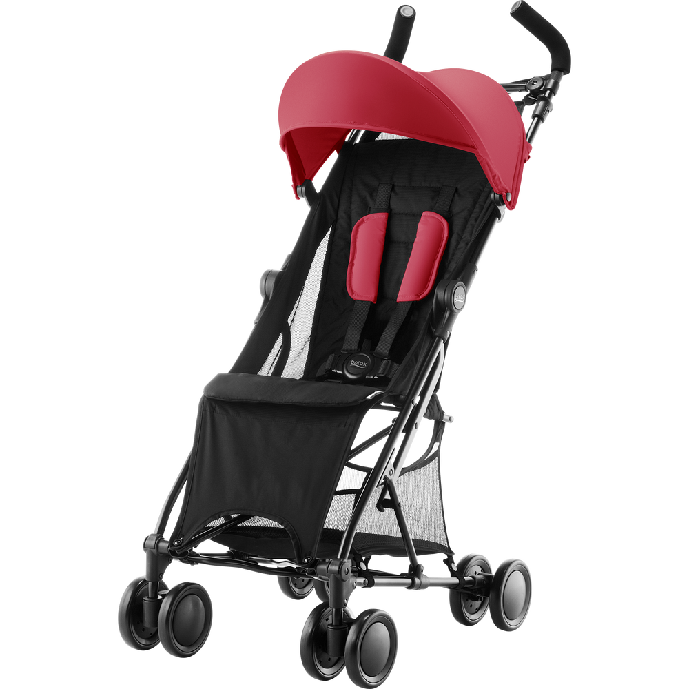 Britax Holiday Flame Red - Matkarattaat ja lastenrattaat - 2000027393 - 4