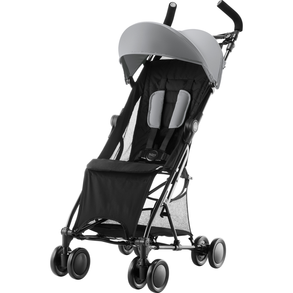 Britax Holiday Steel Grey - Matkarattaat ja lastenrattaat - 2000027393 - 6