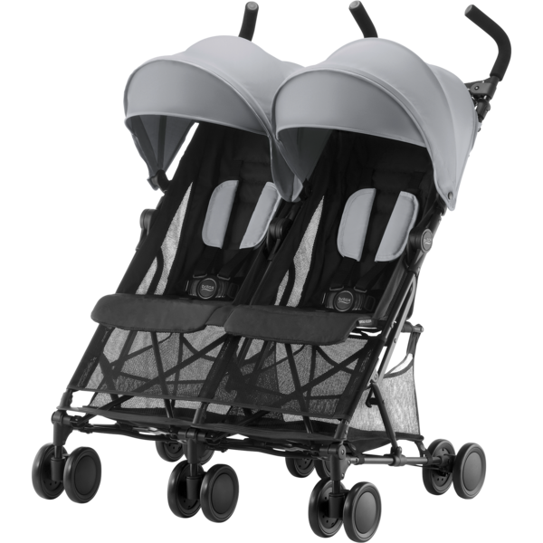 Britax Holiday Double värinä Steel Grey - Sisarusrattaat - 2000029303 - 1