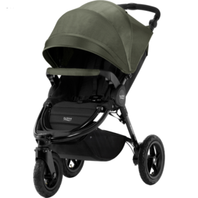 Britax B-Motion 3 Plus värinä Olive Denim - Matkarattaat ja lastenrattaat - 2000023140113 - 1