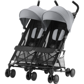 Britax Holiday Double värinä Steel Grey - Sisarusrattaat - 2000029303