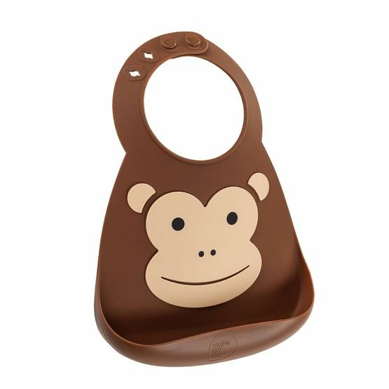 Ruokalappu Make My Day Monkey - Ruokalaput - BB113 - 1