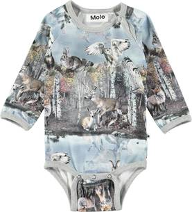 Molo Fonda body By the forest lake - Bodyt ja paidat - 4W18B204 - 1