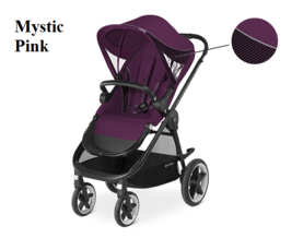 Cybex Balios M lastenrattaat värissä Grape Juice - Matkarattaat ja lastenrattaat - 515213006 - 1