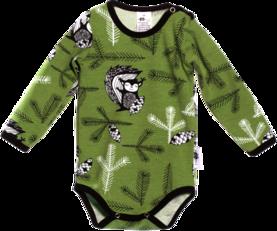 PaaPii vauvan body Orava metsäisen vihreänä - Bodyt ja paidat - 13176 - 1 0077ad53b0