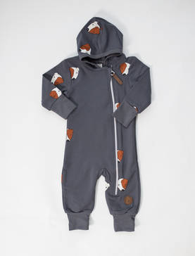 Blaa Milan jumpuit, Dog Dark Grey - Haalarit ja jumpsuitit - MILAND - 1