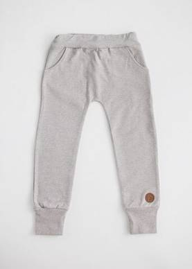 Blaa Valletta Baggy pants värinä grey melange - Housut ja legginsit - VALL - 1